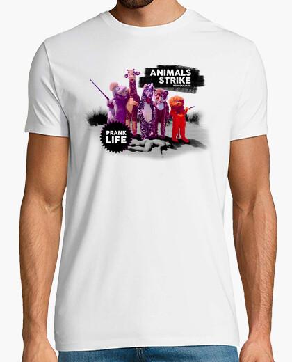 Tee-shirt rémi gaillard - grève des animaux