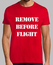 Remove before flight (militar)