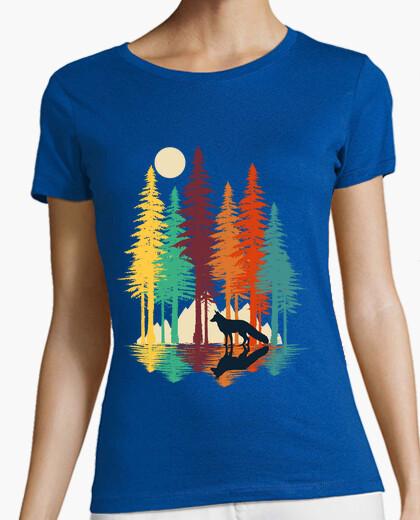 Tee-shirt renard de forêt