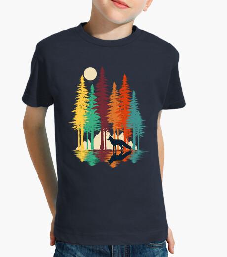 Vêtements enfant renard de forêt