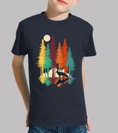 renard de forêt