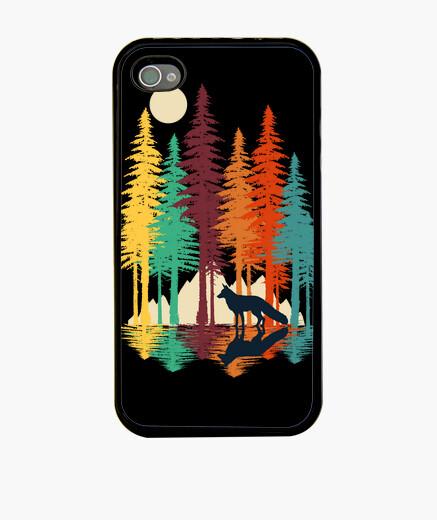 Coque iPhone renard de forêt