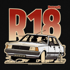 Camisetas RENAULT 18 TURBO BLANCO