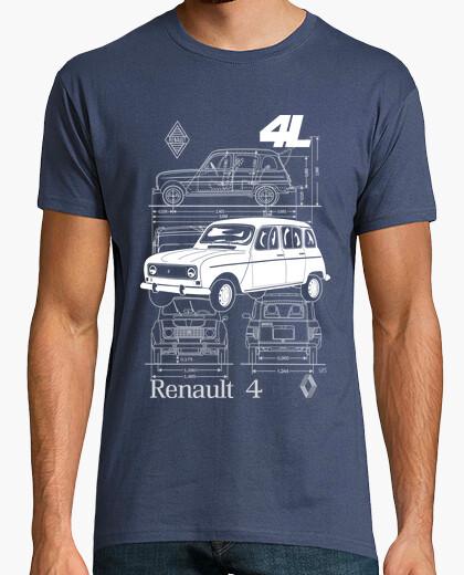 T-shirt renault 4