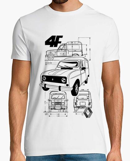Camiseta Renault 4F