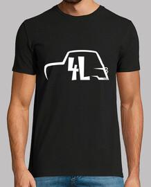 renault 4l black