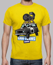 Renault 4L BLUES BROTHERS