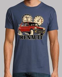 renault 5 alpine red turbo
