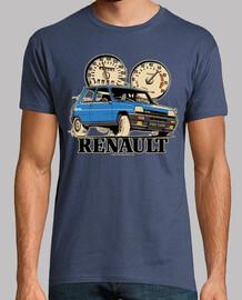 renault 5 alpine turbo blue