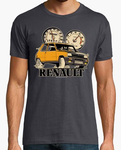 Camiseta RENAULT 5 COPA  NARANJA