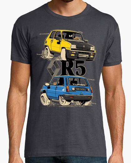 Tee-shirt renault 5 coupe / alpine