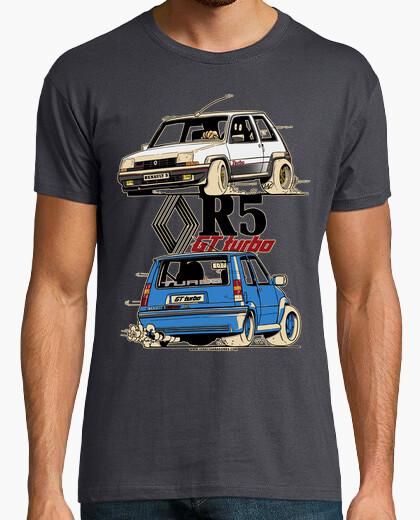 Tee-shirt renault 5 gt turbo