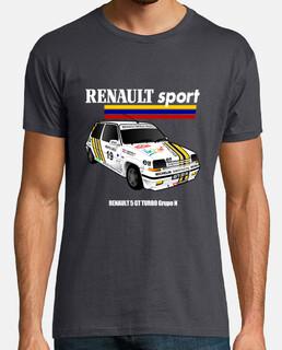 RENAULT 5 GT TURBO blanca