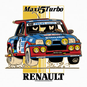 Tee-shirts RENAULT 5 MAXI TURBO