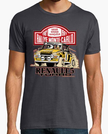 Camiseta Renault 5 Turbo Monte-Carlo