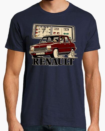 Camiseta RENAULT 7 GRANATE