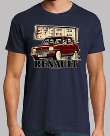 renault 7 grenat