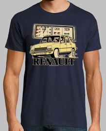 renault 7 light yellow