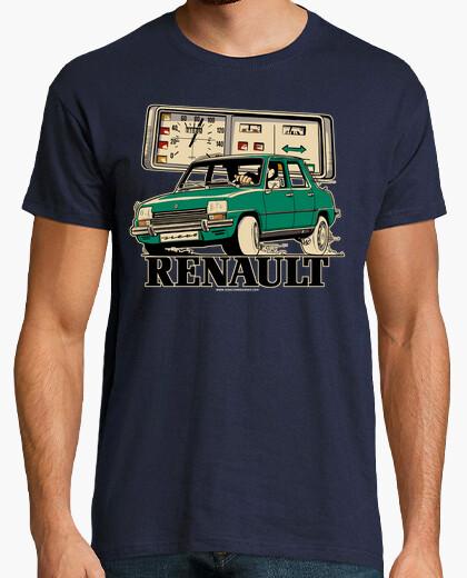 Camiseta RENAULT 7 VERDE OSCURO