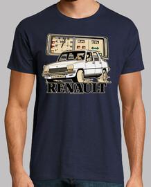 renault 7 white
