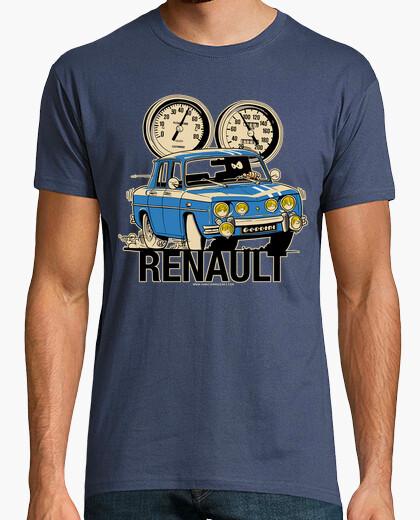 Camiseta RENAULT 8 GORDINI BIFARO AZUL