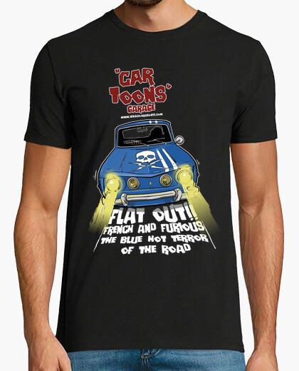 Tee-shirt renault 8 gordini preuve de la mort