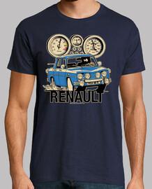 renault 8 ts bleu
