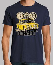 renault 8 ts yellow