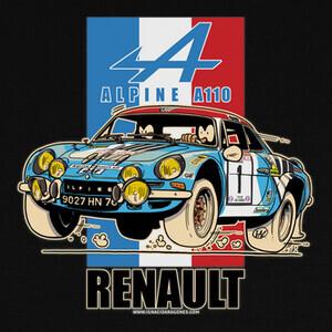 Camisetas RENAULT ALPINE A110