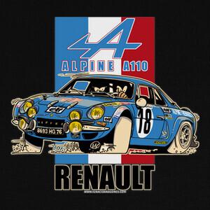 Camisetas RENAULT ALPINE A110 1800