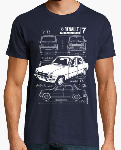 Camiseta Renault siete