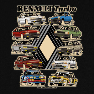 Camisetas RENAULT TURBO