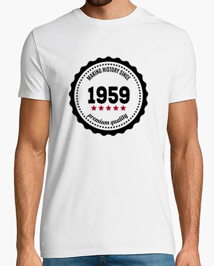 T-shirt rendendo history dal 1959