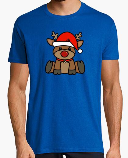 T-shirt Renne di Natale