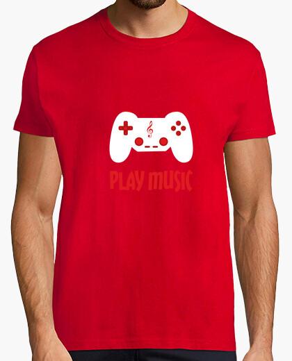 Camiseta reproducir música