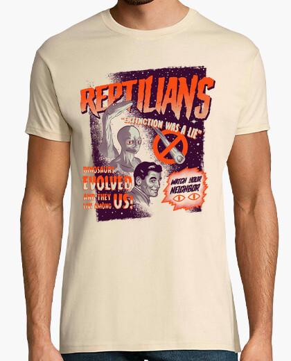 Camiseta Reptilians