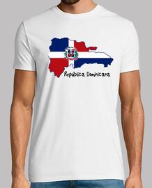 Republica Dominicana Mapa-Bandera