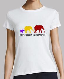 República is Coming (negro) - Chica