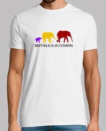República is Coming (negro) - Chico