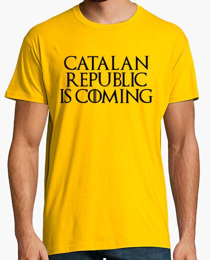Tee-shirt république catalane est à coming