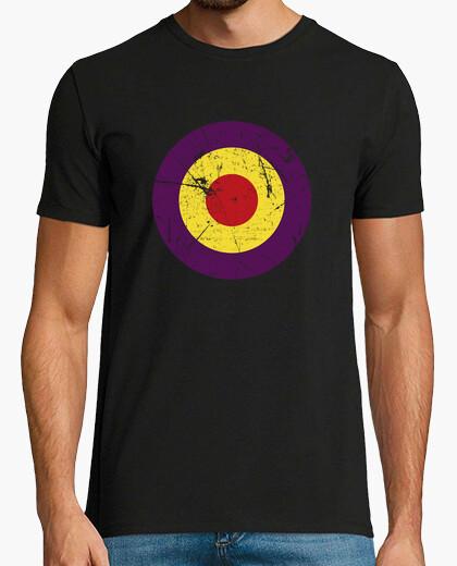 Tee-shirt république cercle inverse porté (homme)