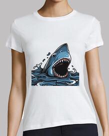 requin en angry