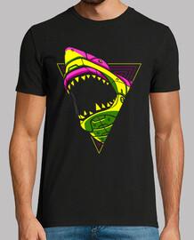 requin punk rétro