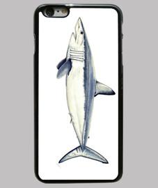 requin taupe - cas de l'iphone 6 plus, noir