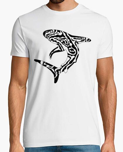 Tee-shirt requin tribal 1 / requin / requins / tr