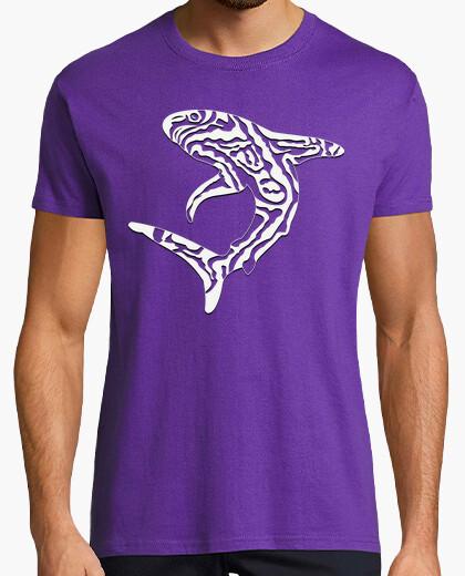 Tee-shirt requin tribal 3 / requin / requins / tr