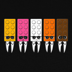 Camisetas Reservoir Bricks