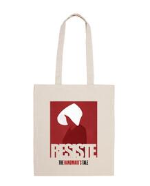 RESISTE - El Cuento de la Criada - Bolsa tela 100% algodón