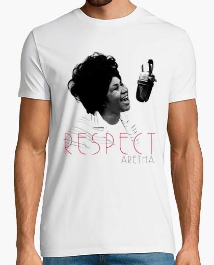 Respect Aretha t-shirt