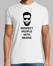 respect menschen mit bart